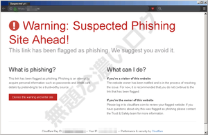 Warning: Suspected Phishing Site Ahead! This link has been flagged as phishing. We suggest you avoid it.