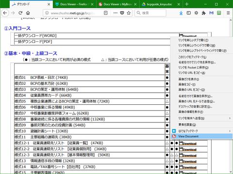 Wordの文書を新しいタブに表示する「Docs Viewer」1