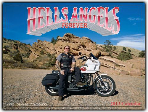 HELLS ANGELS FOREVER USA 2013年 カレンダー