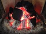 切炭の燃焼4