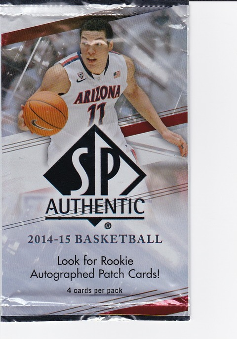 2016-3-a-1 2014-15 SP Authentic Aaron Gordon
