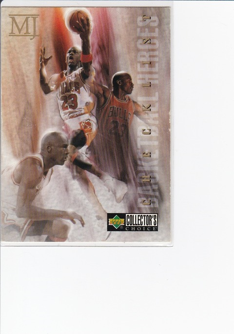 1994-95 Collector's Choice  1 219 Michael Jordan CL