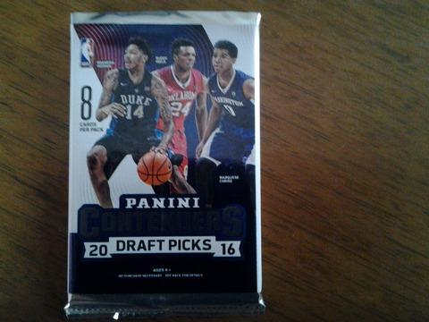 2017-1-e-1 2016 Panini Contenders Draft Picks Brandon Ingram