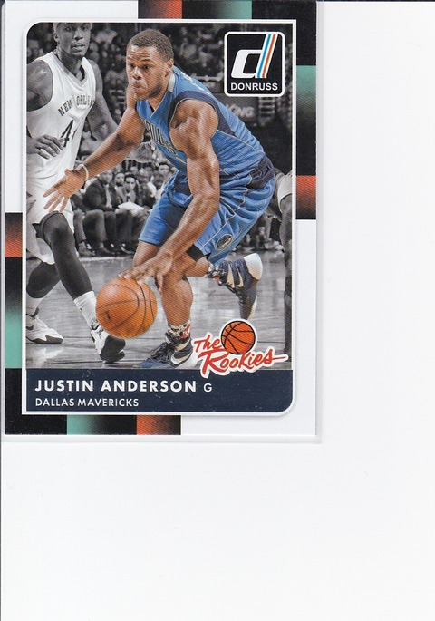 2016-8-a-9 Justin Anderson RC