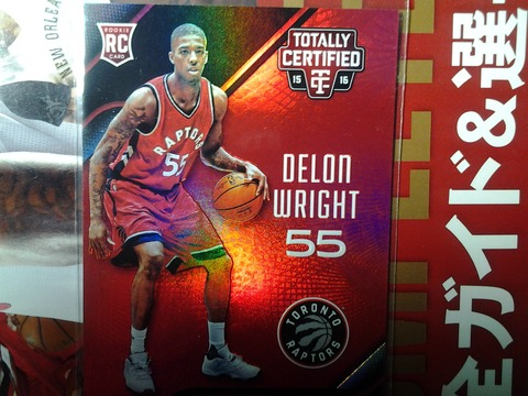 2016-12-b-3 Delon Wright RC  prizm