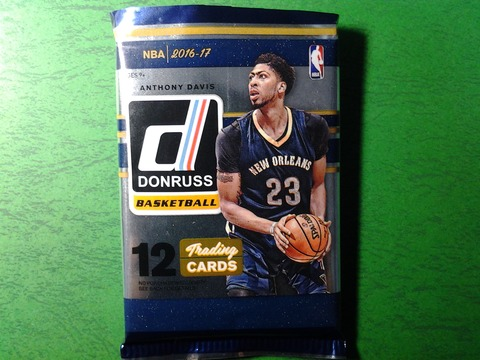 2017-1-j-1 2016-17 Donruss Anthony Davis