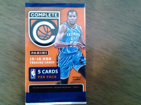 2017-1-a-1 2015-16 Panini Complete kevin Durant