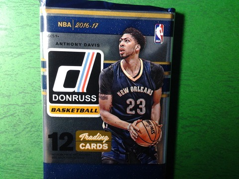 2017-1-l-1 2016-17 Donruss Anthony Davis