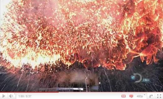 火に油 スーパースロー
