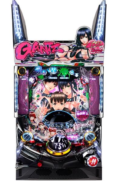 シリーズ初の甘デジ!ぱちんこGANTZ:2Sweetばーじょんの筐体が公開。えちちぃですね…