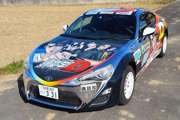 サミー TOKYO AUTO SALON2021に出展予定だったパチスロ頭文字Dのラッピングカーを公開