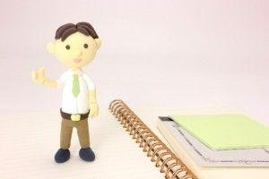 粘土先生とノート.jpg