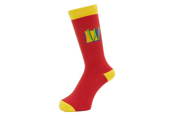 POISON SOCKS RED 1