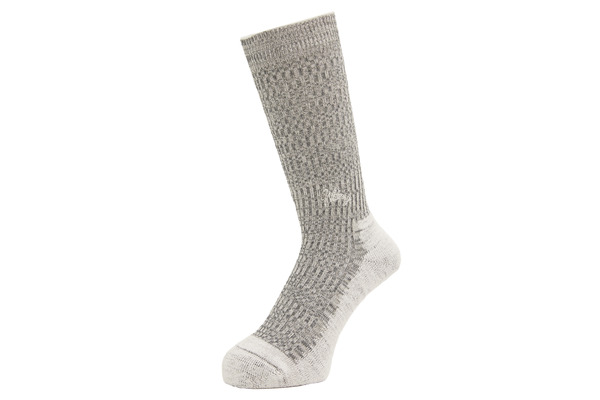 DOUBLE JACQUARD EMJAY SOCKS GREY 1