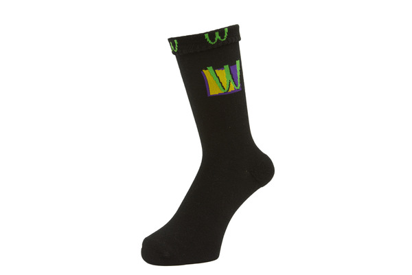 POISON SOCKS BLACK 2
