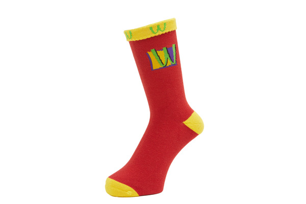 POISON SOCKS RED 2