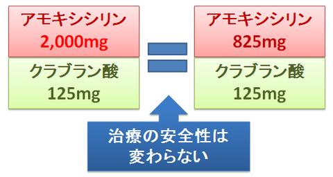 アモキシシリン2000mgの安全性