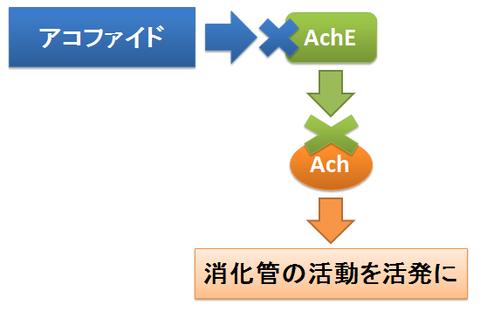 アコファイドの作用機序