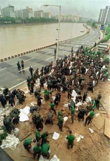 ソウルを洪水から守るダム 日本が協力するも補償求める韓国