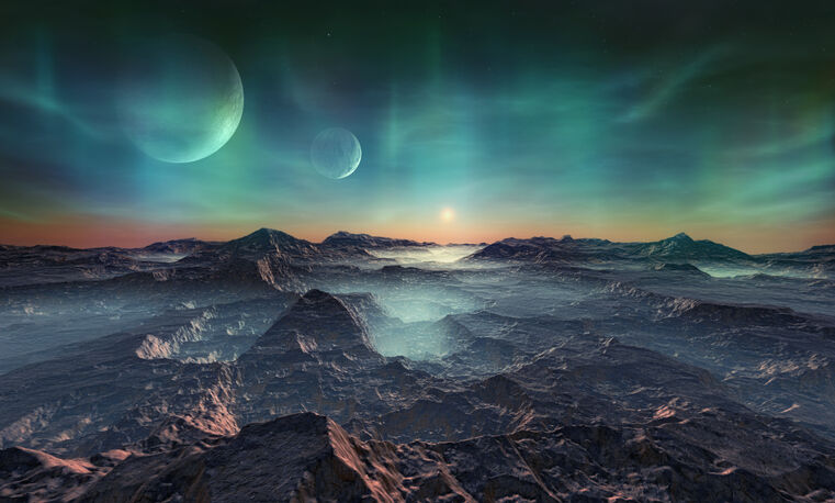 知的生命体が存在する惑星