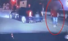「降りてこいや」あおり運転し威嚇…ドラレコに映像 被害者「挟み撃ちされ5人に囲まれた」