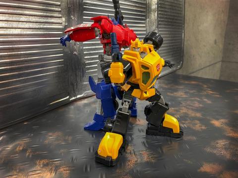 Bumblebee&Optimus
