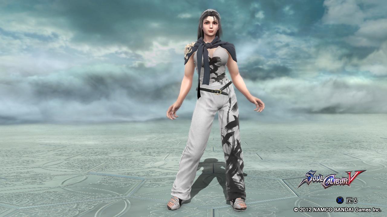okaasan 風間準のコスプレをしたエリュシオン 「お母さん繋がりで、エリュシオンに準の服を着