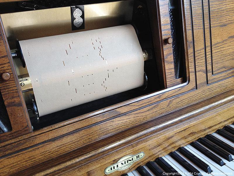 自動ピアノ