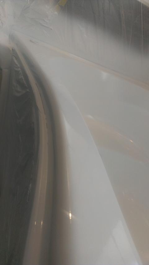 江南トップフランジ磨き前
