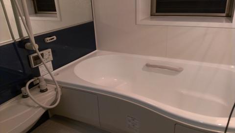江南市浴槽塗装完成