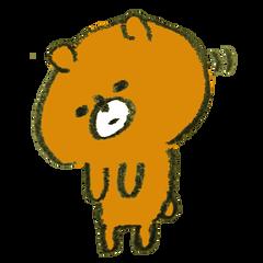 お辞儀 熊