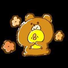 熊 ひよこ