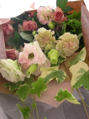 ハロウィン花束ー1