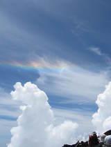 山頂の虹−3