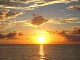 ビミニの夕日