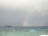 ジープの虹