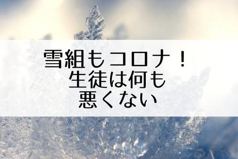 雪組コロナ