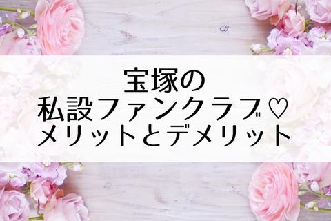宝塚私設ファンクラブ