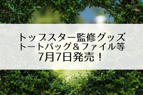 トップスター監修グッズ
