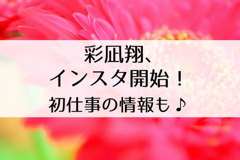彩凪翔退団後