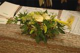 岩惣婚礼装花 6月6日