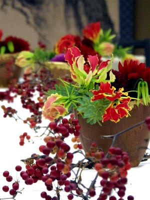 岩惣婚礼装花