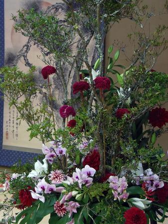 岩惣 披露宴装花 2013年10月9日