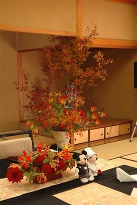 岩惣 披露宴装花 2011年10月31日