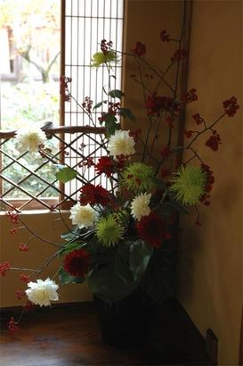 岩惣 披露宴装花 2011年11月25日