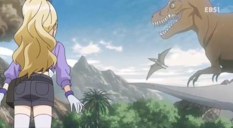 05-7ティラノサウルスとプテラノドン