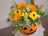 ハロウィン アレンジ花