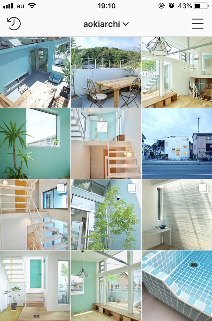 青木設計事務所のインスタグラム