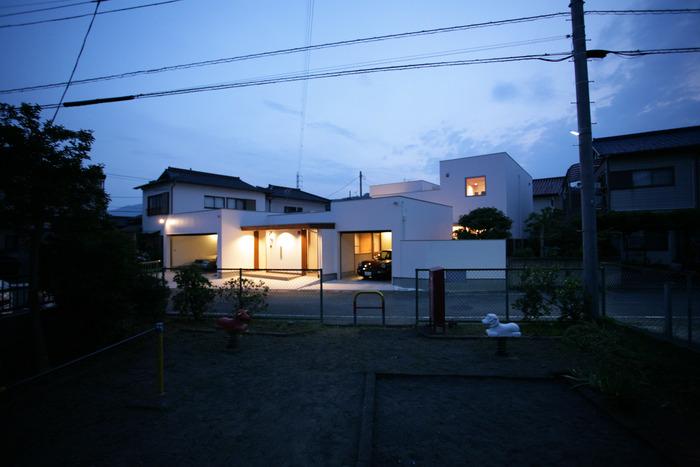 宮本邸夜景1