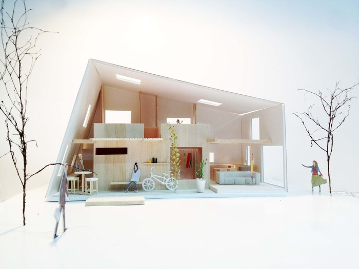 増田邸模型1